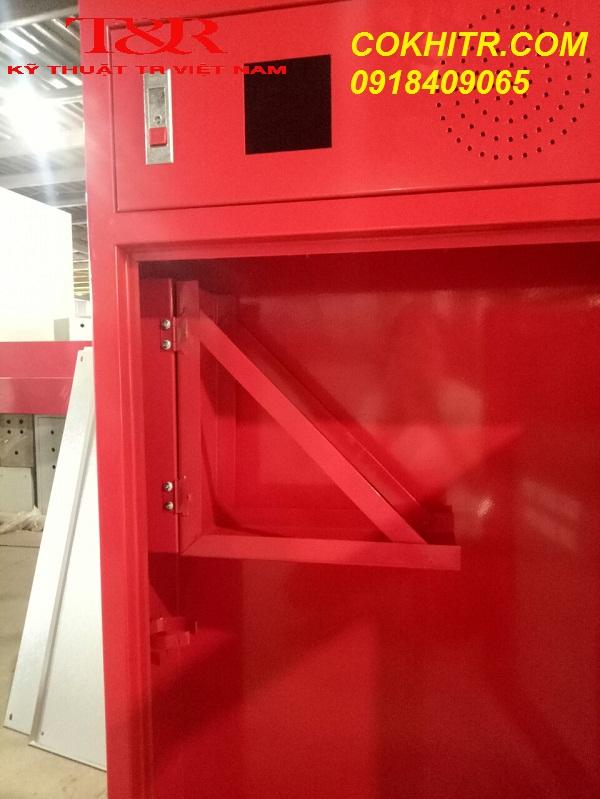 Tủ chữa cháy có giá vòi xoay