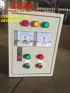 Hình ảnh tủ điều khiển máy bơm nước 3 pha
