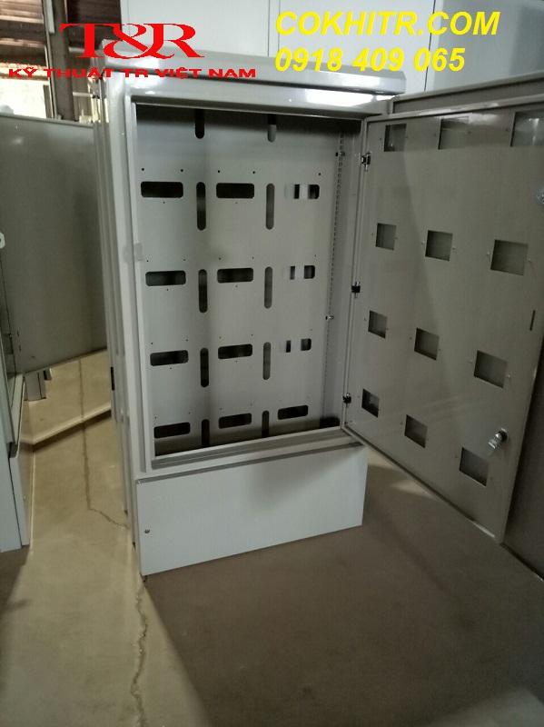 Tủ công tơ 3 pha, 2 lớp cánh, 2 mặt cánh